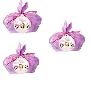 3 Pack Baby Born Surprise Pets Series 2 With 8+ Surprises Color Change & Bathtub