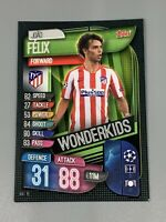 40 Joao Felix Madrid Topps Match Attax Champions League Sticker CL 19//20  Nr