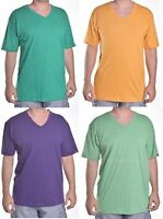 Vans Men's Solid Classic V Neck Tee Shirt Choose Size & Color