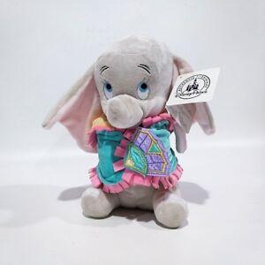 Babies Dumbo Plush Toy with Blanket 25cm Stuffed Doll Gift