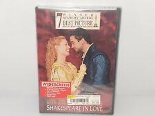 Shakespeare in Love (Dvd, 1999) New Sealed
