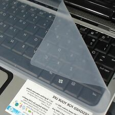 "NEW Clear Protector Universal Silicone Laptop Keyboard Cover Skin for 17"" PC"