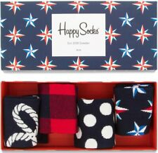 Original Happy Socks Nautical Gift Box - Women's 5.5-9.5 US 36-40 EU