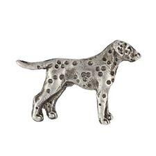 Dalmatian, silver covered pin, high quality Art Dog Usa