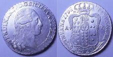 Naples - Ferdinand IV Plaque 1798 Spl + Sig Periz