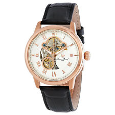 Lucien Piccard Optima Open Heart Automatic Mens Watch LP-12524-RG-02