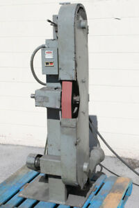 "Dayton Knife Floor Standing Belt Sander 3"" x 120"" 2HP ""VIDEO"" #2"