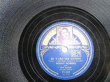 Winnie Dobber, Bij 't lied der gitaren, Nooit zal ik jou vergeten