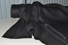 """100% Linen Pre Washed 4.5 oz per sq yd Black 52"""" Wide Fabric by the Yard"""