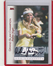 2012 ACE AUTHENTIC ANDREA JAEGER JEAGER GRAND SLAM /30  RED AUTO AUTOGRAPH