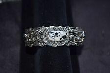 Beautiful Handmade Sterling Silver Cuff Bracelet