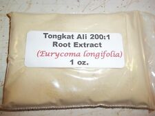 1 oz. Tongkat Ali 200:1 Root Extract Powder Indonesia Longjack Pasak Bumi