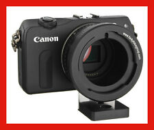 "@ Adapter Canon EF-M M2 M3 M10 Camera -> 2/3"" B4 Lens w/ TRIPOD Mount Fujinon @"