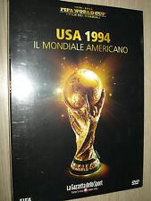 DVD N° 4 I FILM DEI MONDIALI FIFA WORLD CUP GAZZETTA USA 1994 MONDIALE AMERICANO