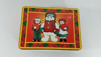 1998 Snowden And Friends Raggedy Ann & Andy cookie Tin