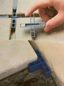 GAPFAST PAVING SPACERS for Patio Slabs & Flags - 10mm Tees & Crosses