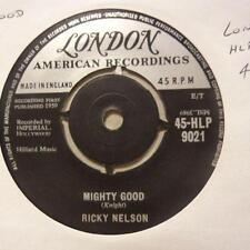 "Ricky Nelson(7"" Vinyl)Mighty Good / I Wanna Be Loved-London-HLP 9021-UK-Ex/VG+"