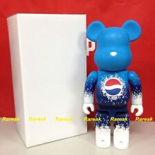 Medicom 2011 Be@rbrick Pepsi Lottery Prize 400% Mat Blue Limited Bearbrick