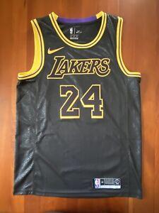 Kobe Bryant Black Mamba City Edition Lakers Jersey Size 44 Medium
