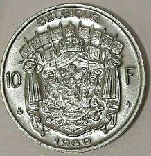 10 Francs 10 Frank 1969 -1979 Belgique Belgïe Belgium Baudouin Fr/ Nl  KM# 155