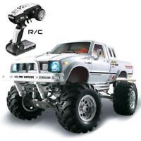 US Stock HG 2.4G RC 4*4 Car Series Racing Crawler Pickup Model 1/10 RTR White