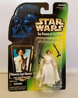 Star Wars PRINCESS LEIA ORGANA Power of the Force Green Card Action Figure