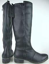 REPLAY Damen Hochschaftstiefel Stiefel Boots Leder Schwarz Gr.37 NEU mit ETIKETT
