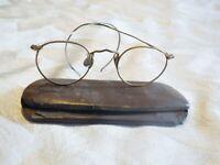 American Optical Ful-Vue 1/10 12k GF Gold Filled Vintage Round Eyeglasses