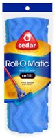 "O'Cedar Roll-O-Matic 8-1/2"" Roller Mop Refill Case of 5"