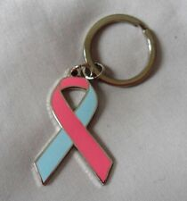 *NEW* Infant and Miscarriage Loss Awareness ribbon enamel keyring.Charity SIDS
