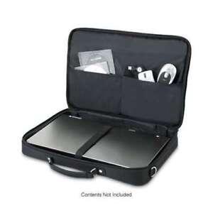 """Dicota Laptop Carry Case Netbook Tablet Notebook Padded Shoulder Bag 12.1"""" Black"""