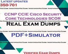 350-701 CCNP CCIE Cisco Security Core Technologies SCOR exam dumps & simulator