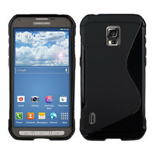 For Samsung Galaxy S5 Active SM-G870A S-Line Gel TPU Silicone Case Skin Cover