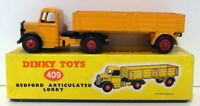 Vintage Dinky 409 - Bedford Articulated Lorry - Orange
