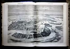 LE MONDE ILLUSTRE,FASCICOLO 120 -30 LUGLIO.1859 8 FOGLI,XILO.RISORGIMENTO.ITALIA