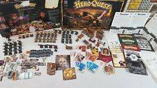 HeroQuest Board Game *WELL PAINTED* + 3 expansions Hero Quest [ENG, 1989]
