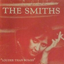 """THE SMITHS """"LOUDER THAN BOMBS"""" Sire/WEA VGC CD JOHNNY MARR"""