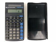 Texas Instruments TI-36X Scientific Solar Calculator Math Science STEM School