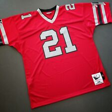 100% Authentic Deion Sanders Mitchell Ness 1989 Falcons Jersey Size 52 2XL Mens