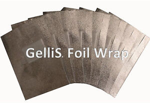 50 High Quality Nail Foil Wraps for Removal of Gel Polish & Acrylic Nails