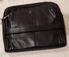 Jewell by Thirty-One Foolproof Fashionista + Bonus Strap, Tech Pouch, Black, NIP