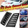 Bonnet Hood Vent Scoop Trim Black For Ford Mustang GT Focus RS ST Mondeo