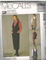 9006 UNCUT Vintage McCalls Sewing Pattern Misses Easy Fitting Jumper Shirt OOP