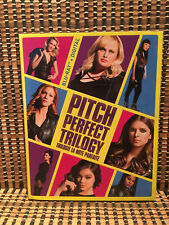 Pitch Perfect Trilogy (3-Disc Blu-ray, 2018)+Embossed Slipcover.Acapella.Kendric