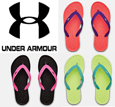Under Armour YOUTH Girls Atlantic Dune 2 Sandals Thongs Flip Flops Shoes 3022732