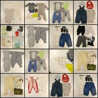 Huge Lot Baby Boys Clothing Size NB 0-6 Months Infant Wholesale Clothes Outfits