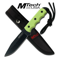 Coltello MTech Hunter Lime Green caccia MT2035GN Knife Messer Couteau Navaja