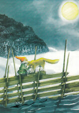 Kunstkarte: Inge Löök - Zwerg mit Wolf / Nr. 212