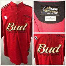 Budweiser Dale Earnhardt Jr. shirt XXL red Chase Authentics Drivers Line