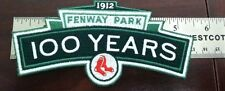 MLB Boston Red Sox Fenway Park 100th Anniversary Jersey Patch FREE SHIPPING